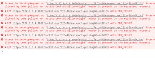 express使用socket.io与vue使用vue-socket.io跨域解决办法